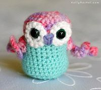 Tiny Owl - with a 'twist'!