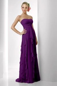 Style 918: Bridesmaids, Prom, Special Occasion & Evening: Bari Jay and Shimmer