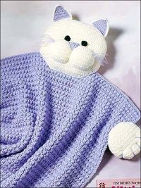 Kitty Blanket Buddy pattern- free download.