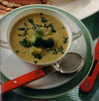 German Brussels Sprout Soup soup