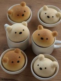 bread bears- oh my gosh these are so cute!!