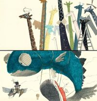 whimsical children's illustration