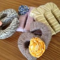 Great idea for old yarn