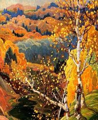 October Gold - Franklin Carmichael, 1922