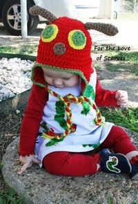 The Very Hungry Caterpillar - crochet