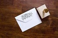 Kailey McKenzie return address stamp