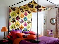 cute fabric canopy