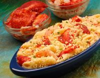 Seafood macaroni and cheese #seafood #macaroni #cheese #recipe