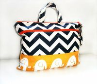 Bag SetWater and stain resistant/ Diaper bag by BarnofColors, $45.00
