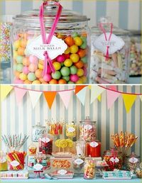 Candy, candy, candy. -