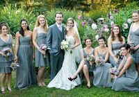 Love the bridesmaid dresses color