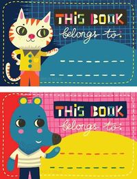 Printable bookplates from Helen Dardik | How About Orange