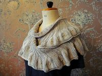 Coquille shawl pattern from Knitty