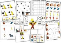 Free Curious George Preschool Learning Pack