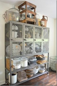 galvanized storage