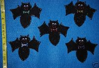 5 Little Bats Felt Board Flannel Board Story