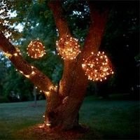 Outdoor lights!