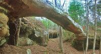 Needle Arch is one of hundreds located within Big South Fork. Love all the natural arches in this area.
