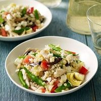 Greek Couscous with Chicken & Feta