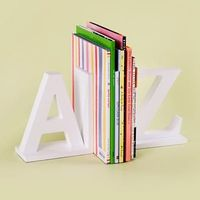 Kids A to Z Bookends - $39 from Land of Nod