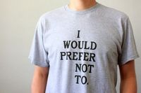 Bartleby Shirt