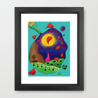 Summer Nights Art Print by Catherine Holcombe