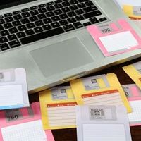 floppy sticky notes
