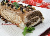 Chocolate Tiramisu Roulade: A little variation from the regular tiramisu yet easy to make. The sponge cake is slightly soaked wi...[read more at Food Frenzy]