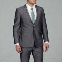 Why rent something when you can buy a suit this hot for $135? Kenneth Cole Reaction Men's BluepostDot 2-button Slim Fit Suit from Overstock.com.
