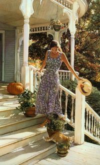 Watercolor by Steve Hanks.