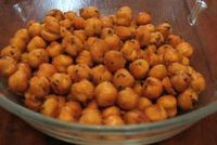 Spicy Chickpea Snack