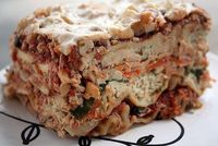 Spinach and Cashew Ricotta Lasagna