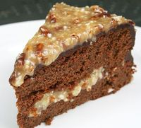 Naturally Sweet German Chocolate Cake