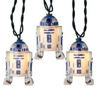 Star Wars -Kurt S. Adler 10-Light Star Wars R2D2 Light Set