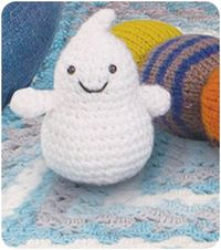 #Crochet a ghost of your own :)