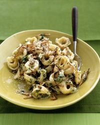 (repost) Tortellini with mushroom sauce recipe