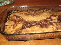 Chocolate Cobbler. . .Imagine this with some vanilla icecream!