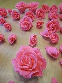 How to Make Roses out of Chocolate Candy Clay