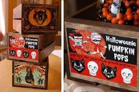 DIY Halloween Candy Crates