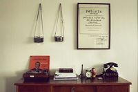 my vintage sideboard by fiiikus, via Flickr