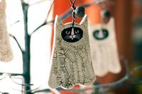 Love these Halloween ornaments - seen on