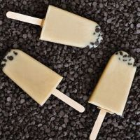 Chocolate Chip Cookie Dough Popsicles
