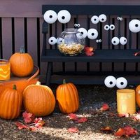 STYROFOAM EYES! Too funny!