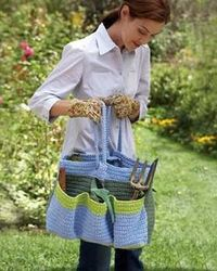 I've got a site that shows how to use grocery bags for crochet. I think this would make a great project.