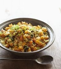 Moroccan Couscous with Saffron #vegan