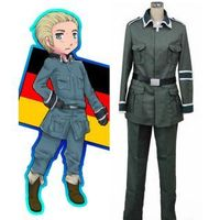 Axis Powers Hetalia Germany Cosplay Costume