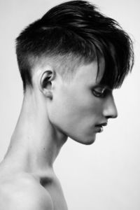 I really want to grow my hair, but I'm naturally attracted to short hair cuts!