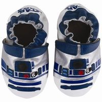 For the tiny Star Wars fan: R2D2 shoes