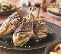 Carla Hall's Pan Seared Turkey with Spicy Gremolata #thechew