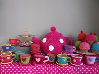 Crochet tea time